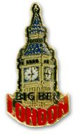 Big Ben pin badge