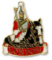 Royal horseguard pin badge