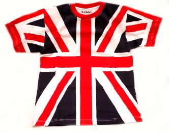 Union jack cotton t-shirt