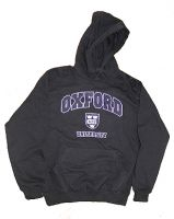 Oxford University hooded sweatshirt