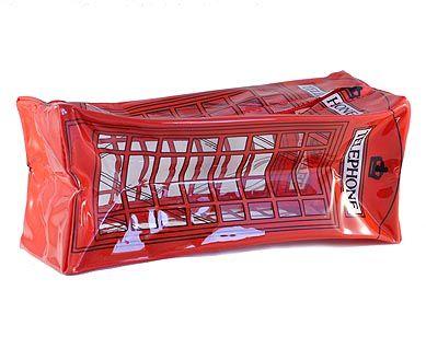 telephone box pencil case british souvenirs union jack london great britain gb souvenirs