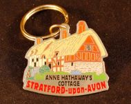Metal Anne Hathaways keyring