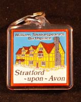 Shakespeare's Birthplace acrylic keyring