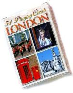 London images playing cards