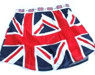 Union jack boxer shorts