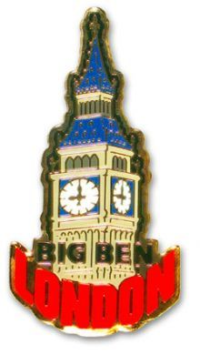 Big Ben metal  magnet