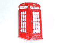 Telephone box polyresin fridge magnet